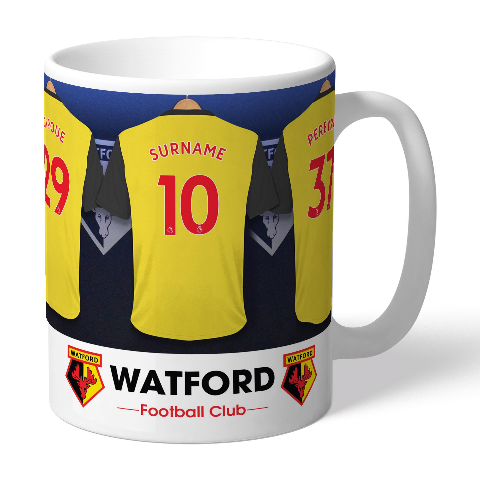 Watford FC Dressing Room Mug