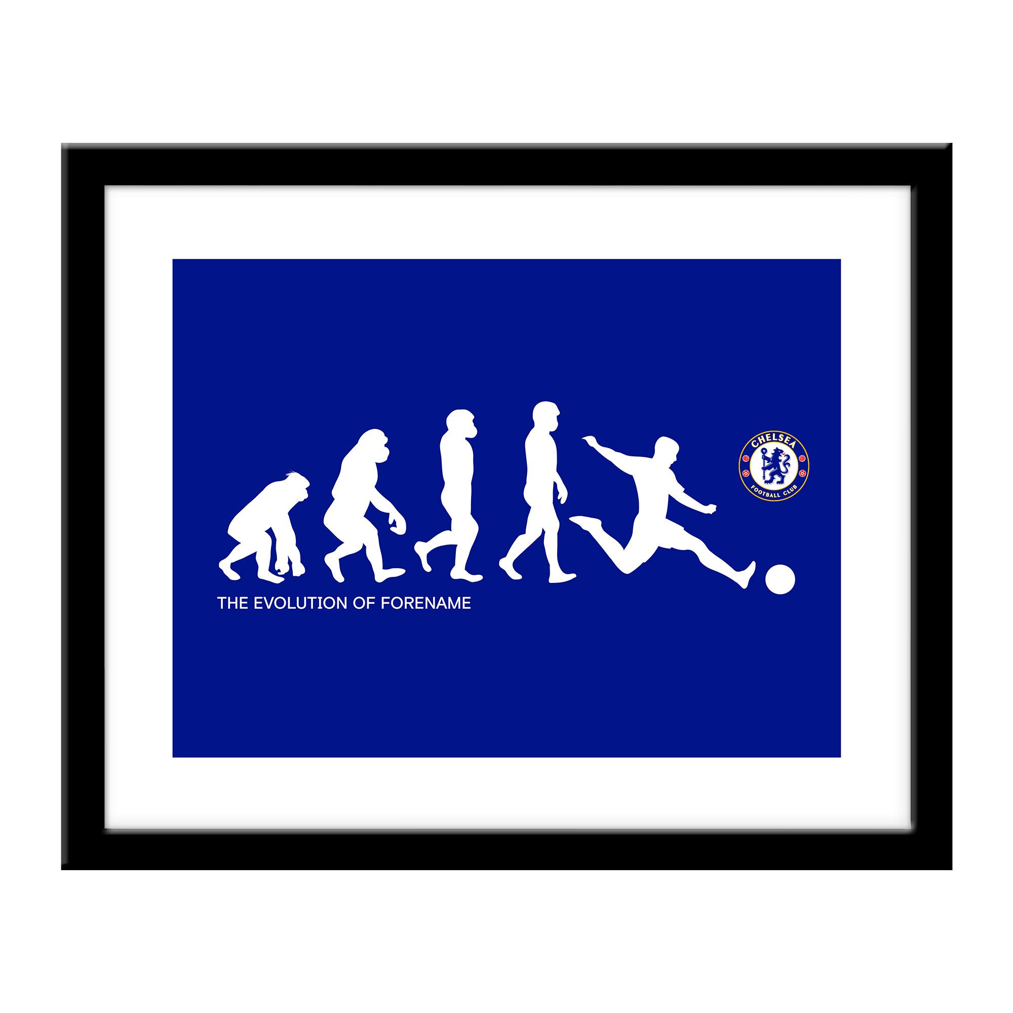 Chelsea FC Evolution Print