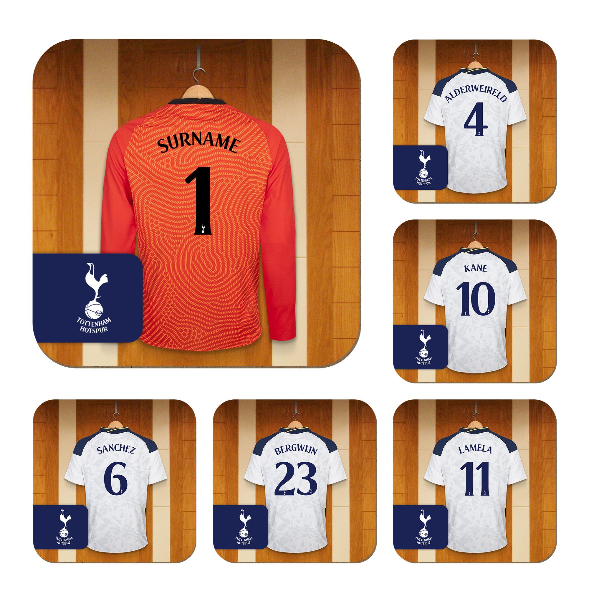 Tottenham Hotspur FC Goalkeeper Dressing Room Coasters