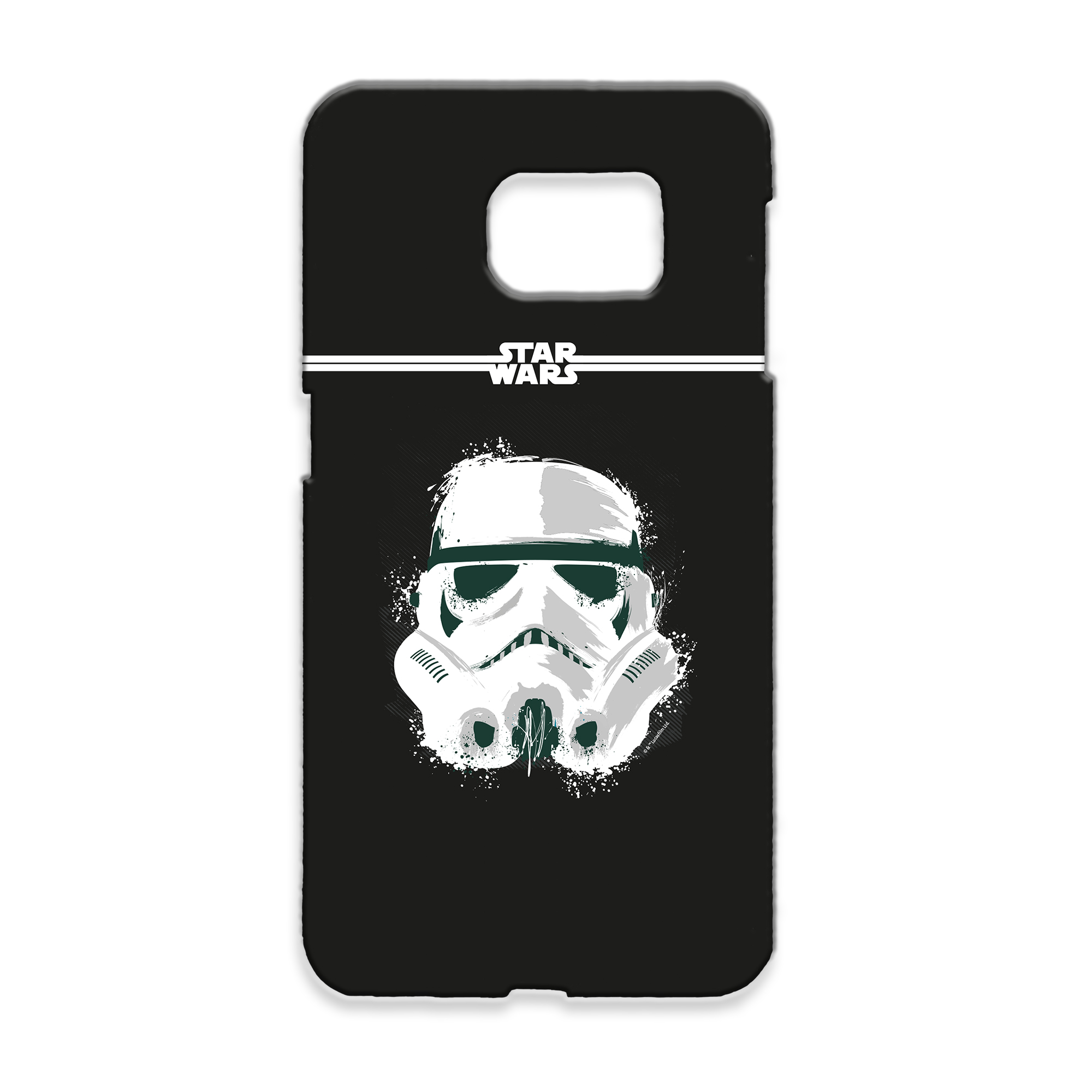 Star Wars Storm Trooper Paint Samsung Phone Case
