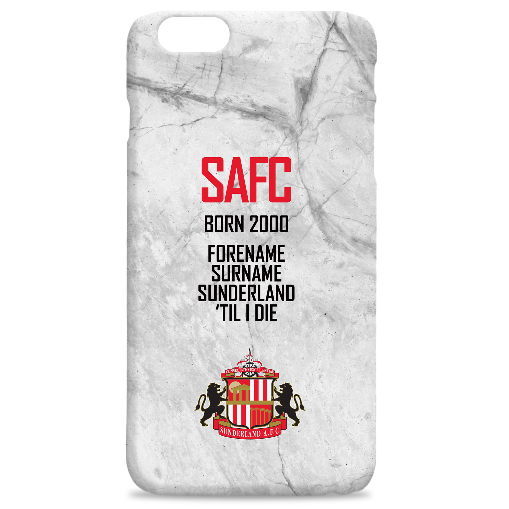 Sunderland 'Til I Die Hard Back Phone Case