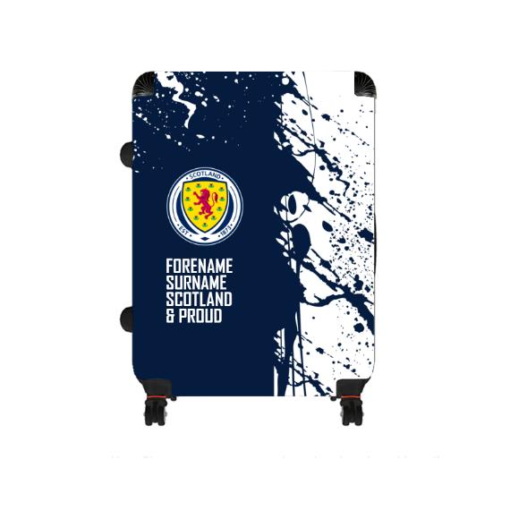 Scotland Proud Large Suitcase