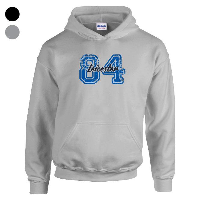 Leicester City FC Varsity Number Hoodie