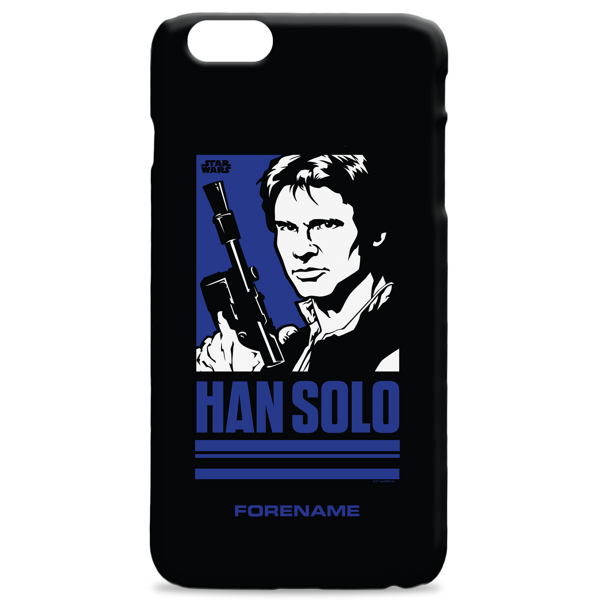 Star Wars Han Solo Pop Art Phone Case