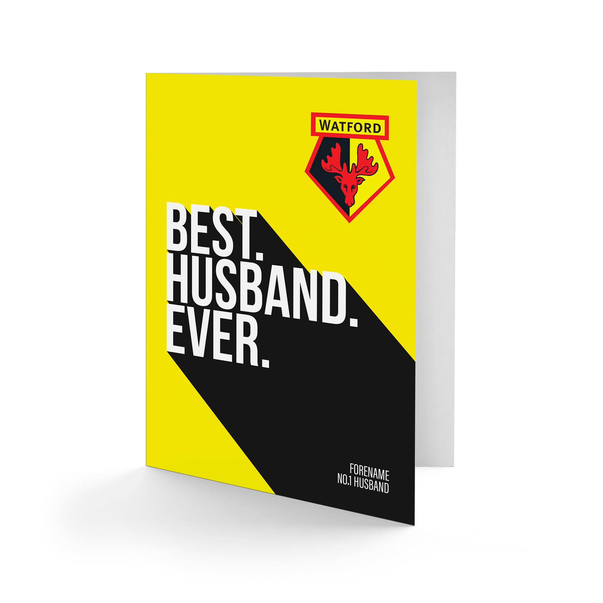 Watford FC Best Husband Ever Card