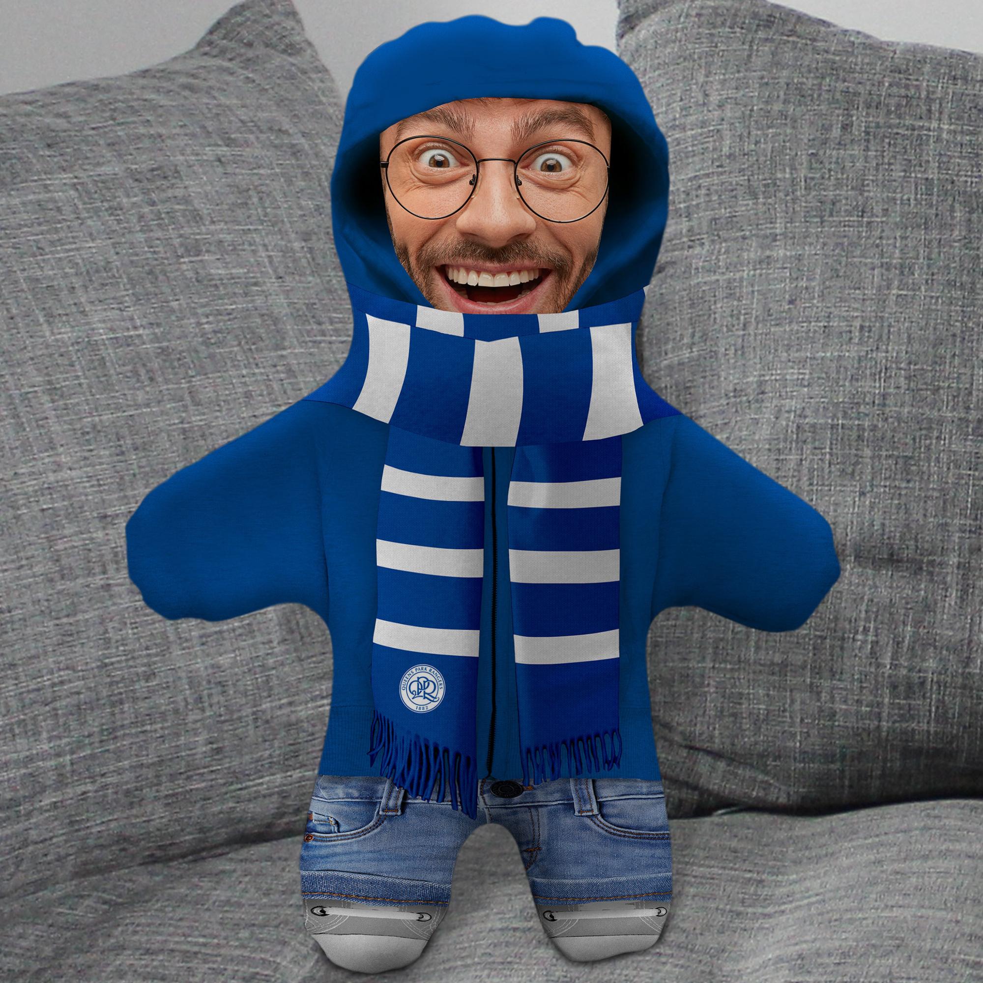 Queens Park Rangers FC Hoodie Mini Me Photo Upload Cushion