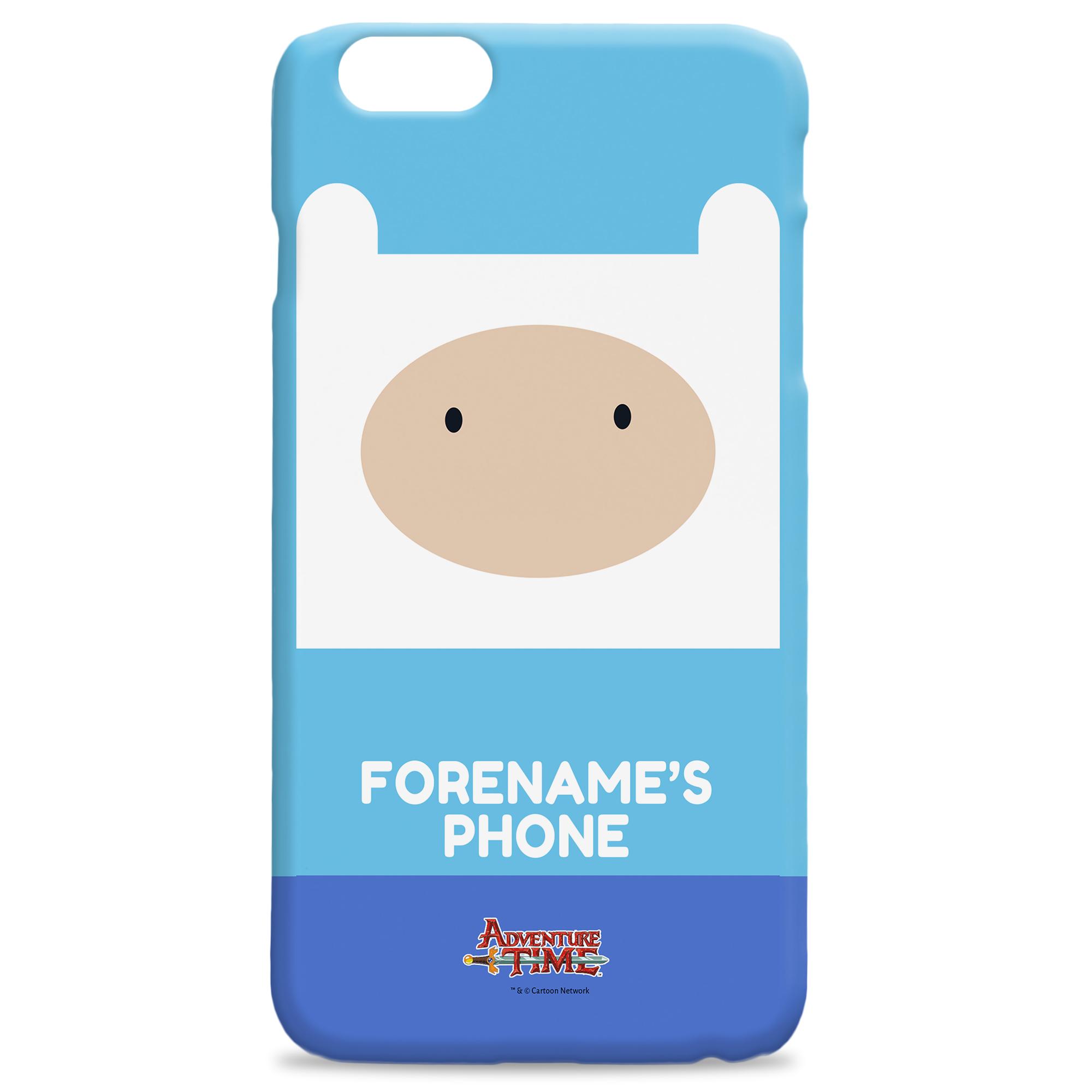 Adventure Time Finn Flat iPhone Case