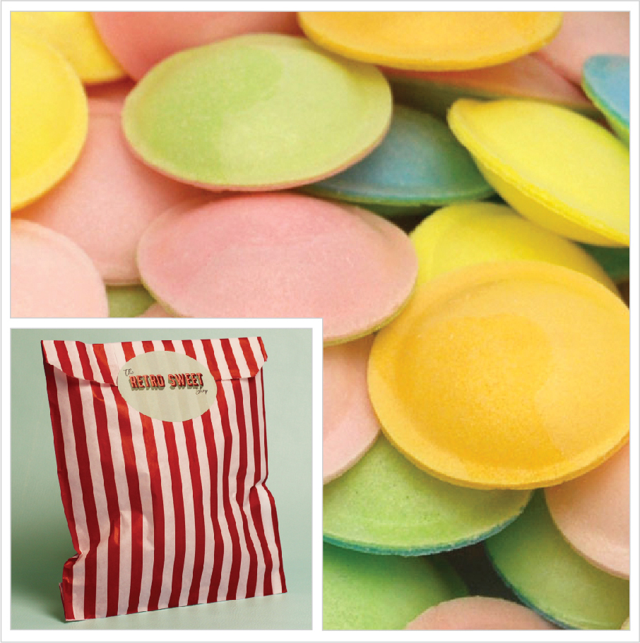 Flying Saucers Sweet Bag
