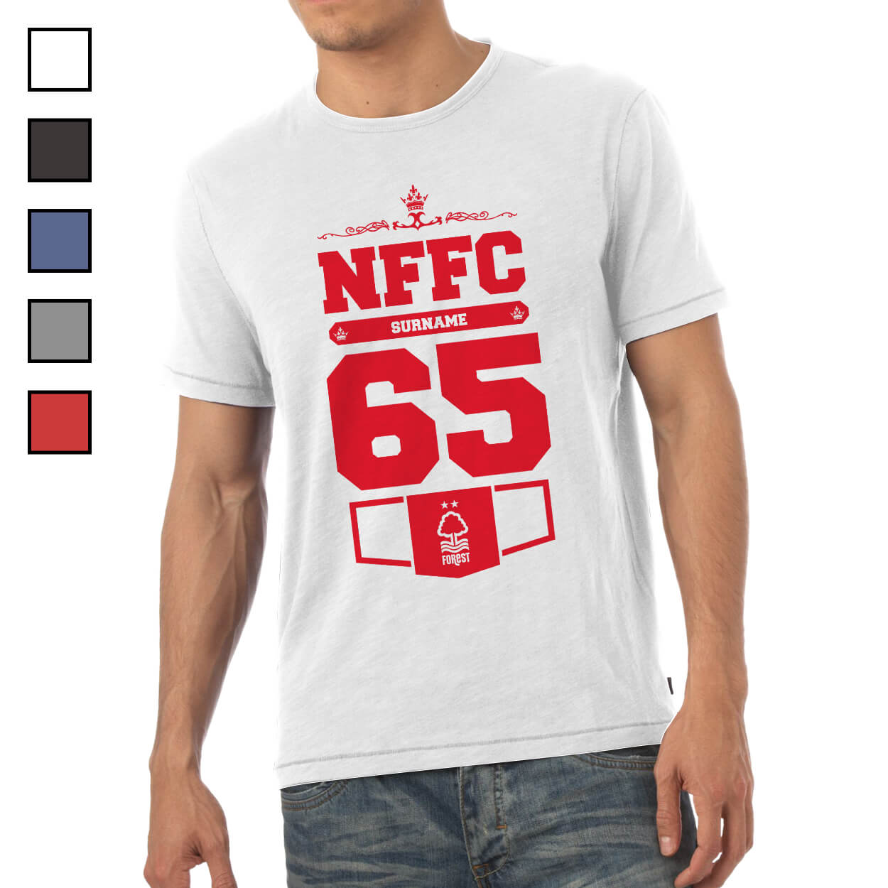 Nottingham Forest FC Mens Club T-Shirt