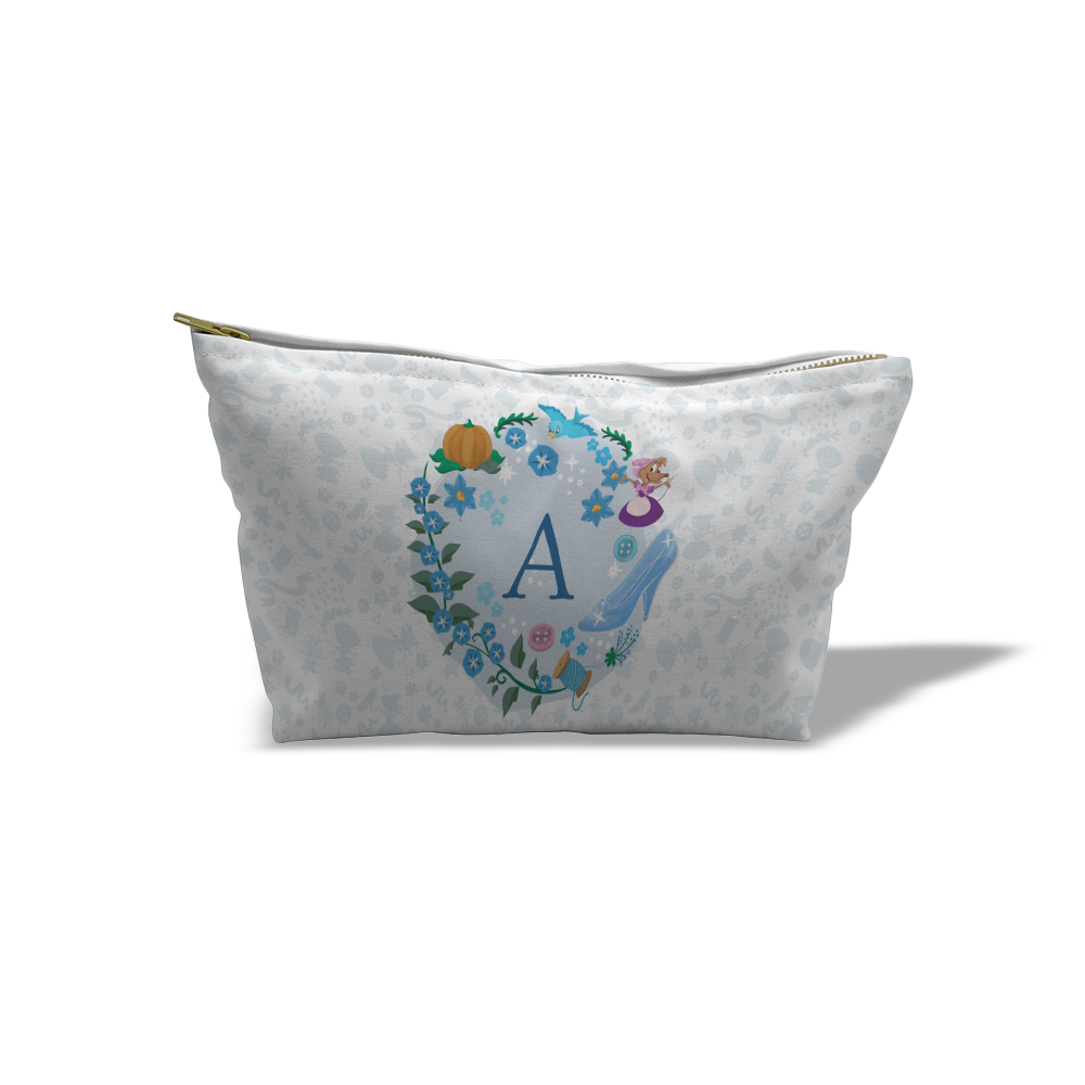 Disney Princess Cinderella Initial Medium Wash Bag