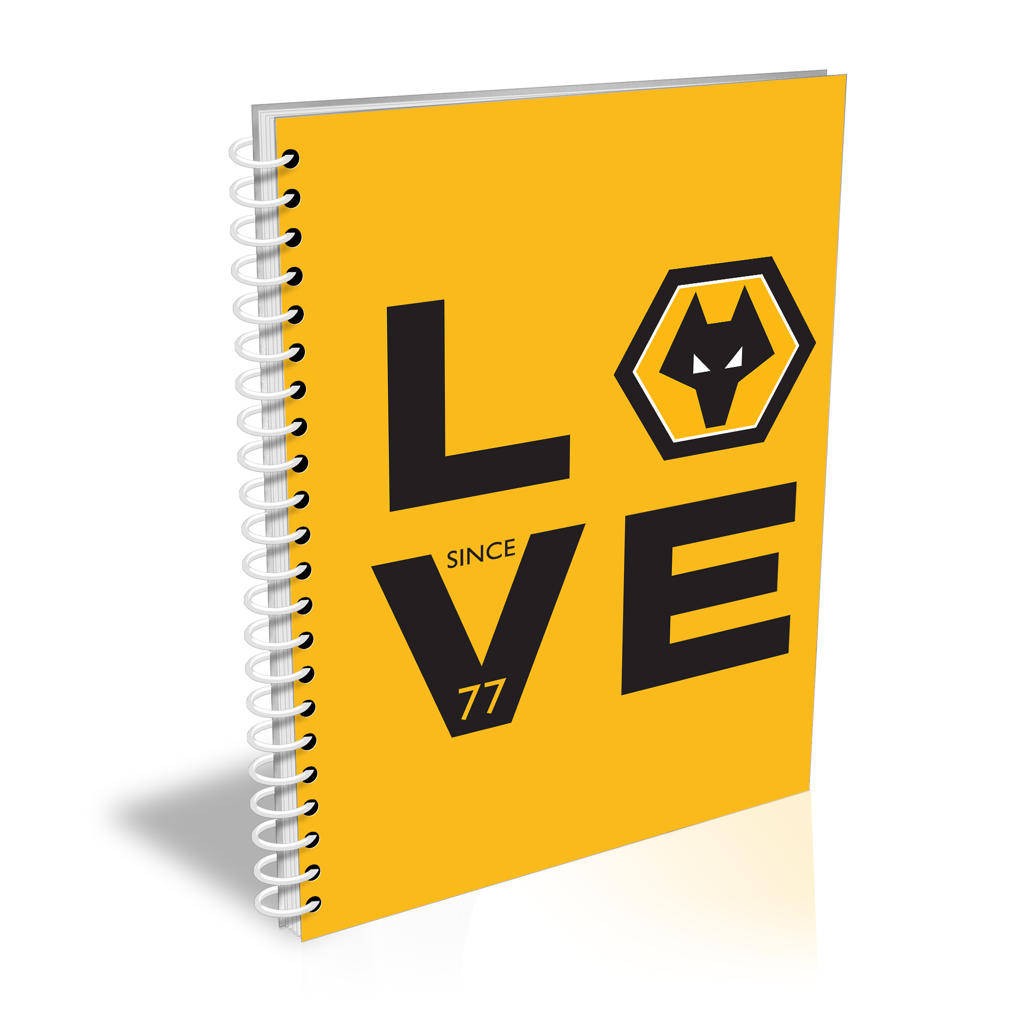 Wolverhampton Wanderers Love Notebook