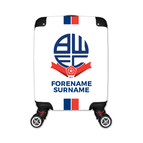 Bolton Wanderers FC Stripe Kid's Suitcase