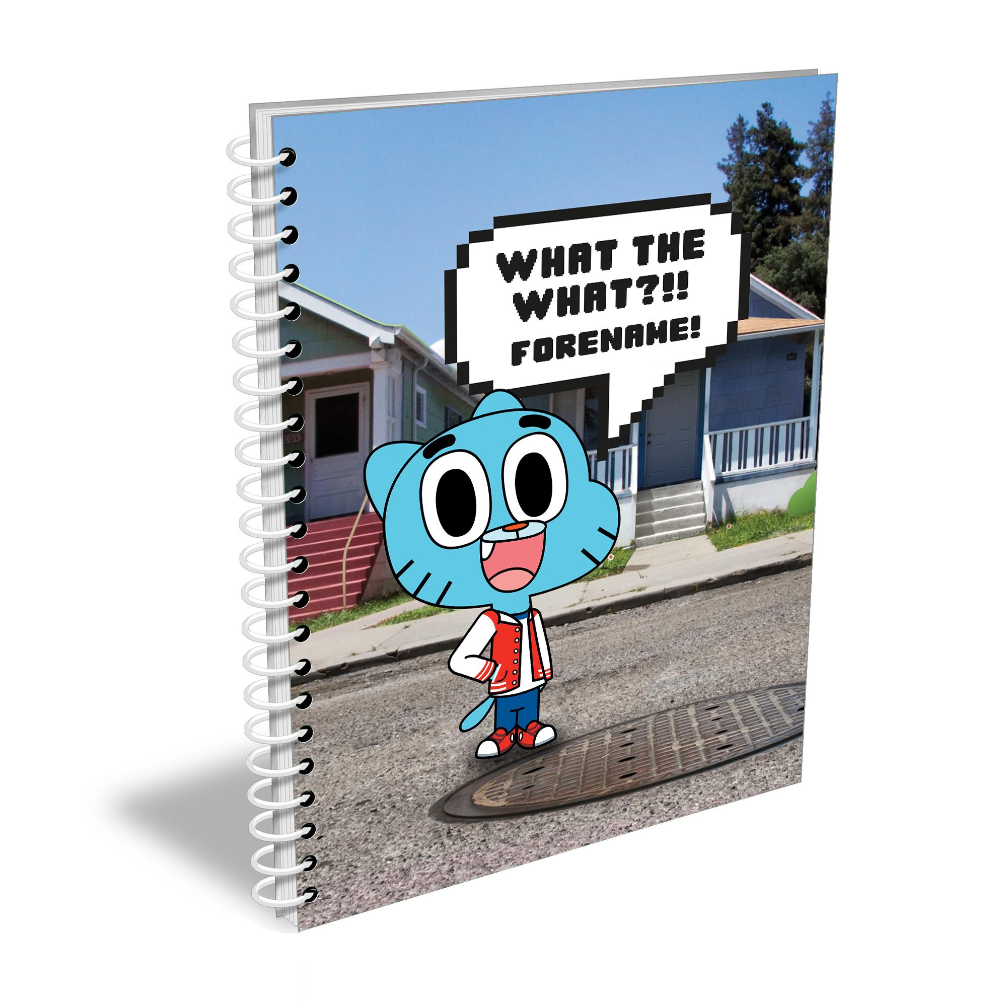 Gumball Notebook