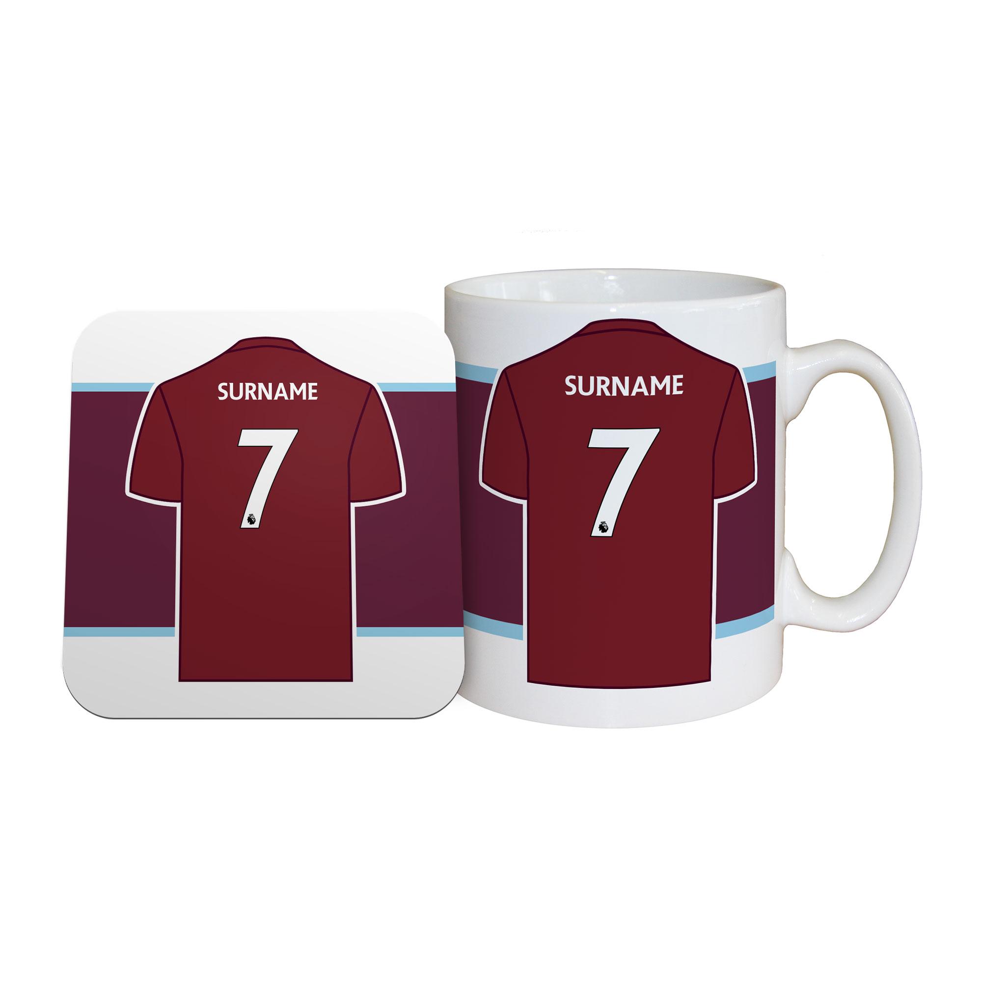 Burnley FC Shirt Mug & Coaster Set
