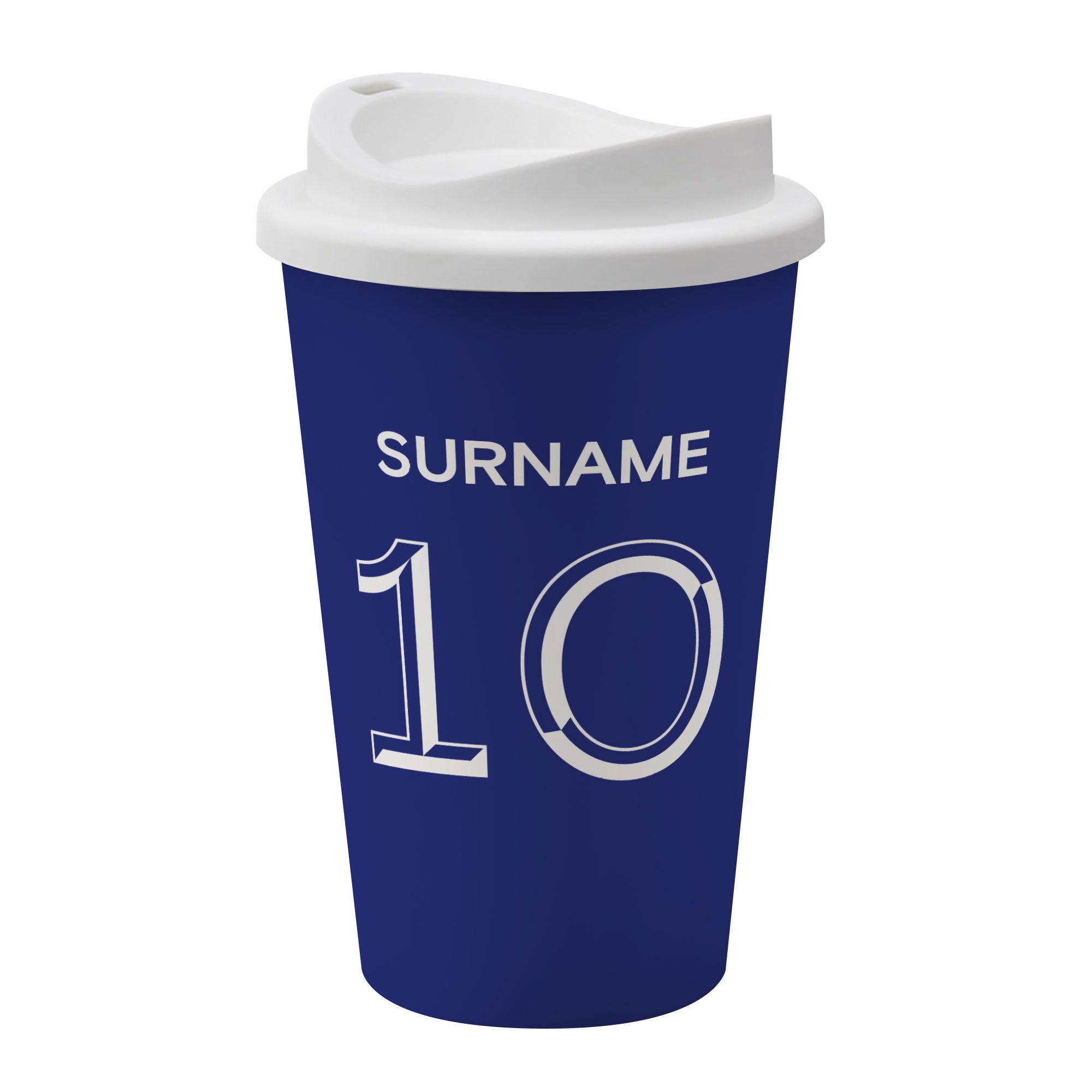 Chelsea FC Back of Shirt Reusable Cup