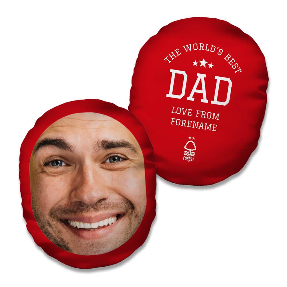 Nottingham Forest FC World's Best Dad Mush Cush