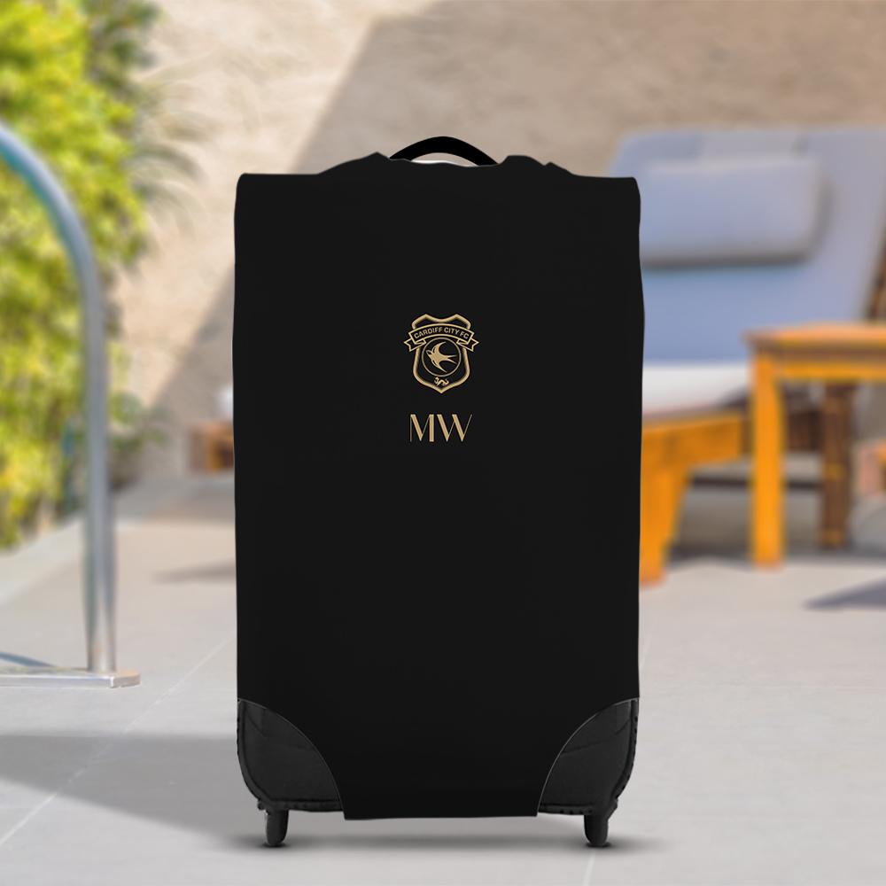 Cardiff City FC Initials Caseskin Suitcase Cover (Medium)