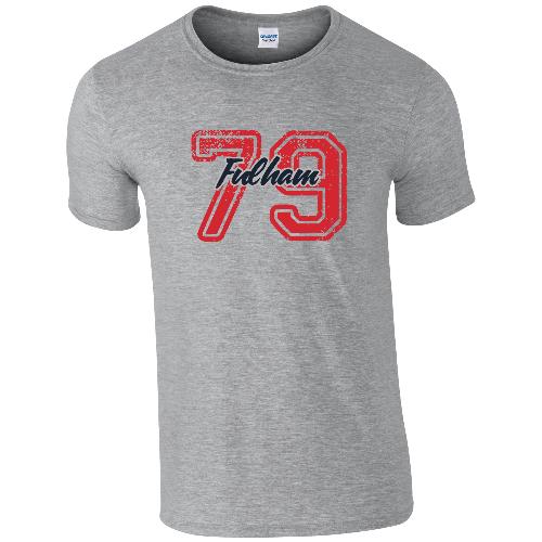 Fulham FC Varsity Number T-Shirt