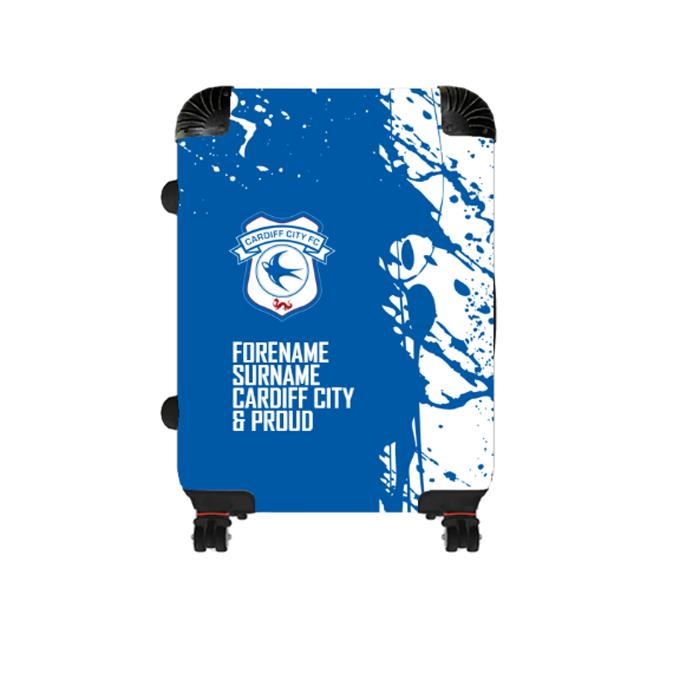 Cardiff City FC Proud Cabin Suitcase