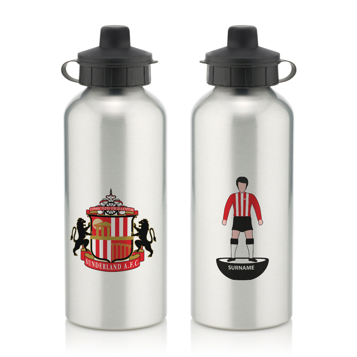 Sunderland AFC Player Figure Water Bottle
