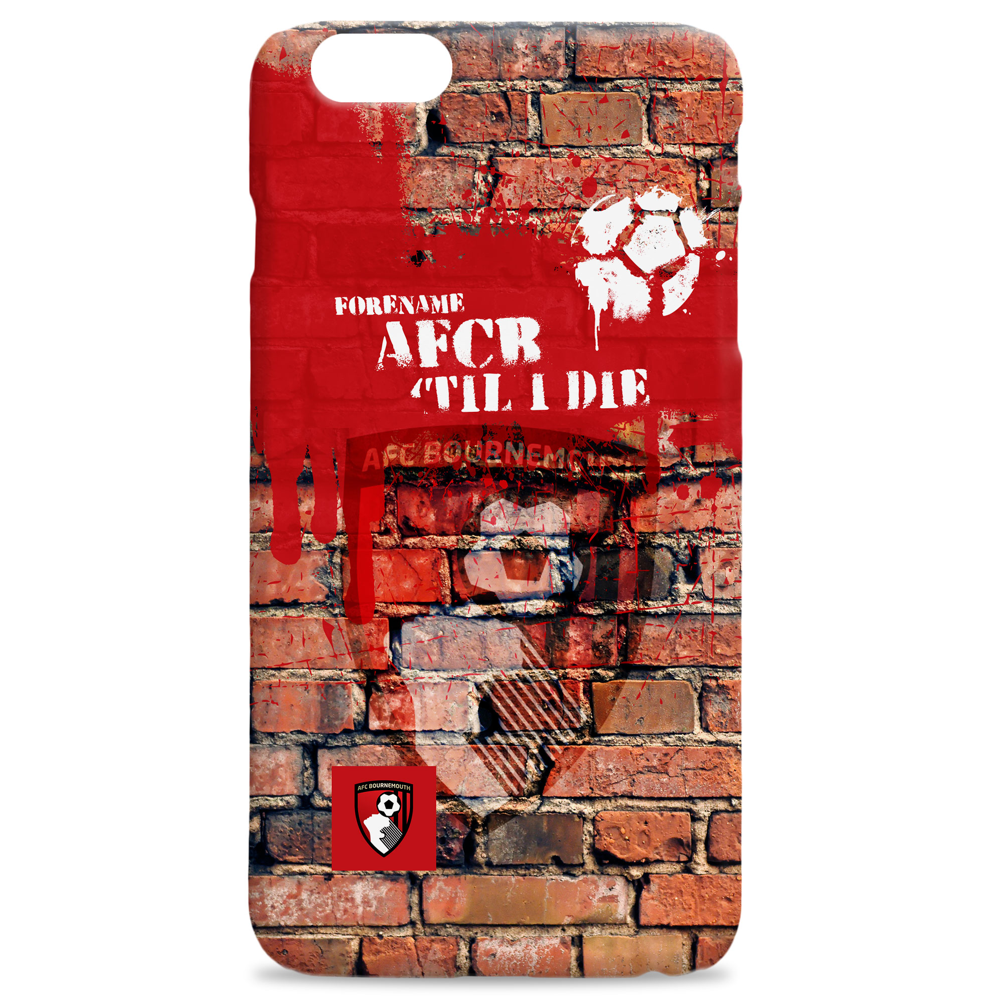 AFC Bournemouth 'Til I Die Hard Back Phone Case