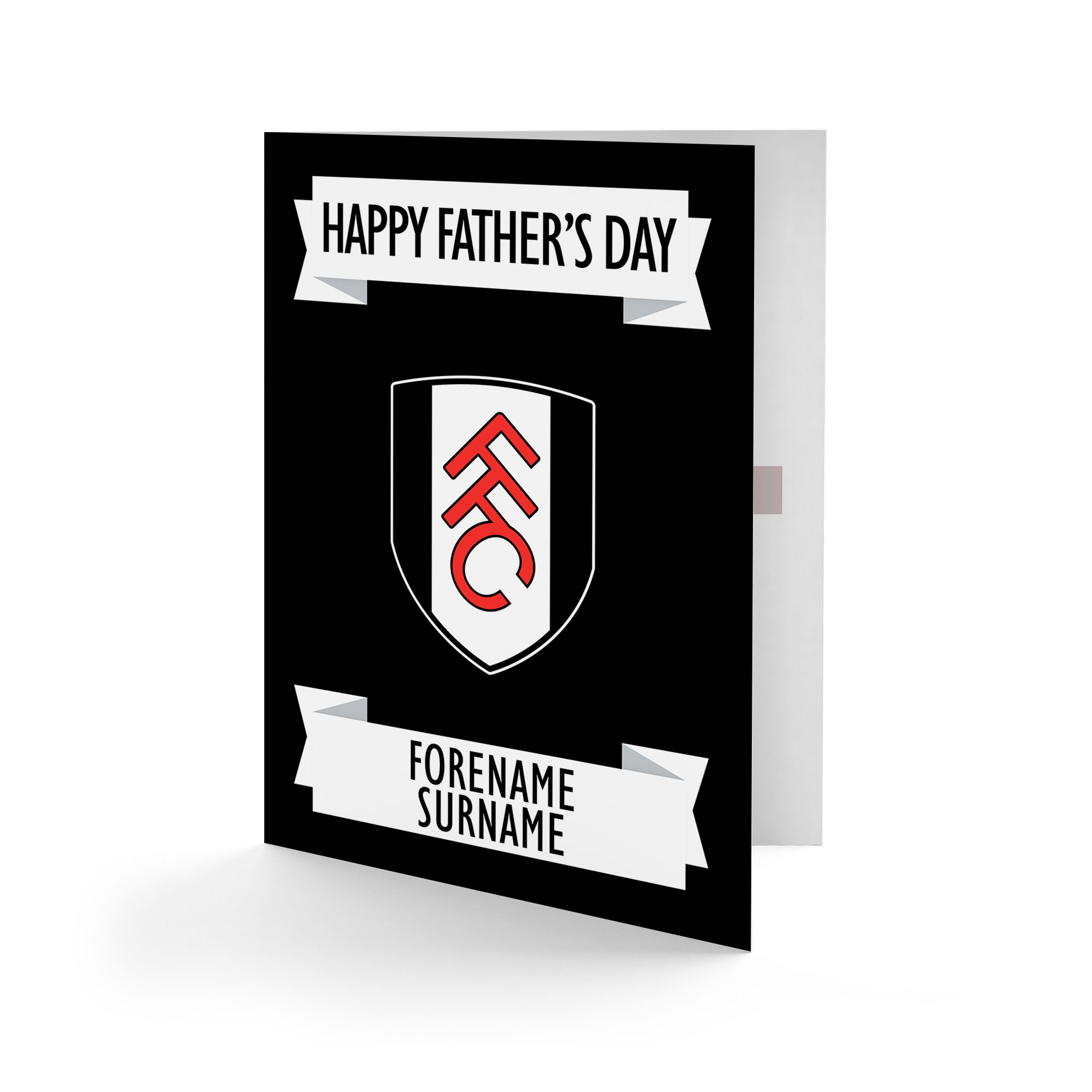 Fulham FC Crest Father's Day Card