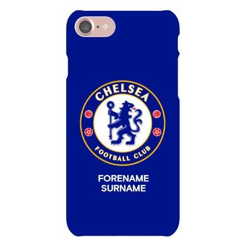 Chelsea FC Bold Crest iPhone 7 Phone Case
