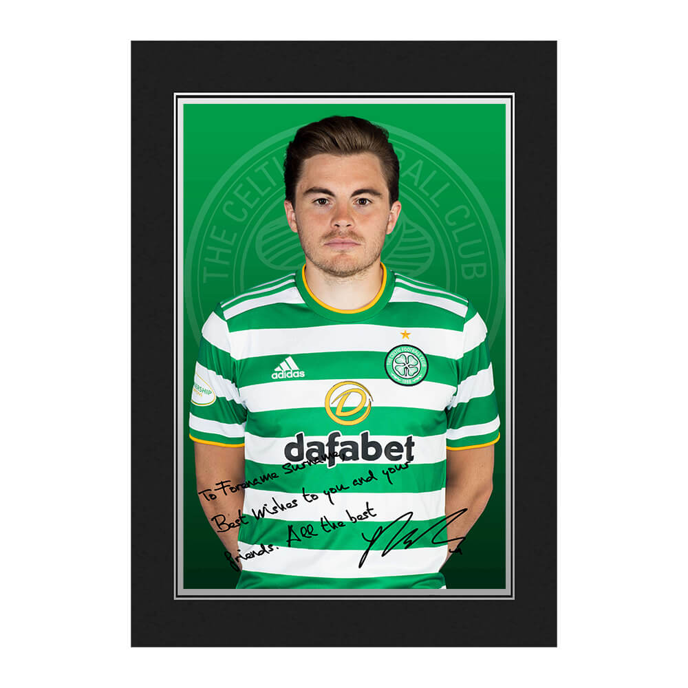 Celtic FC Forrest Autograph Photo Folder