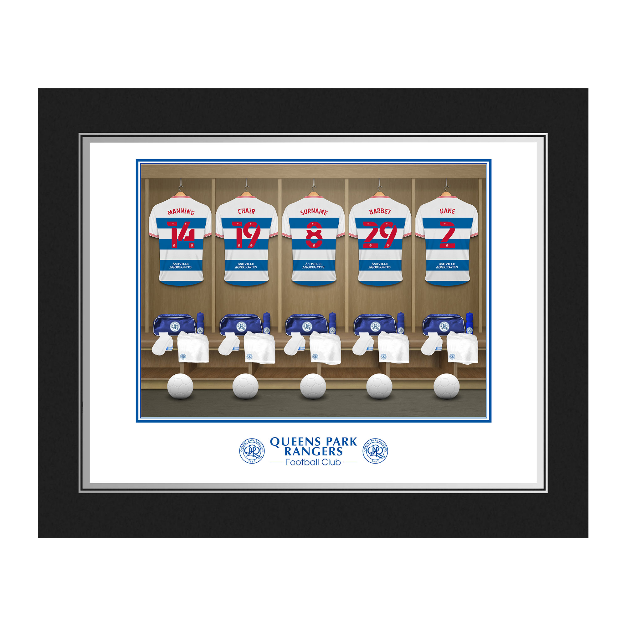 Queens Park Rangers FC Dressing Room Photo Folder