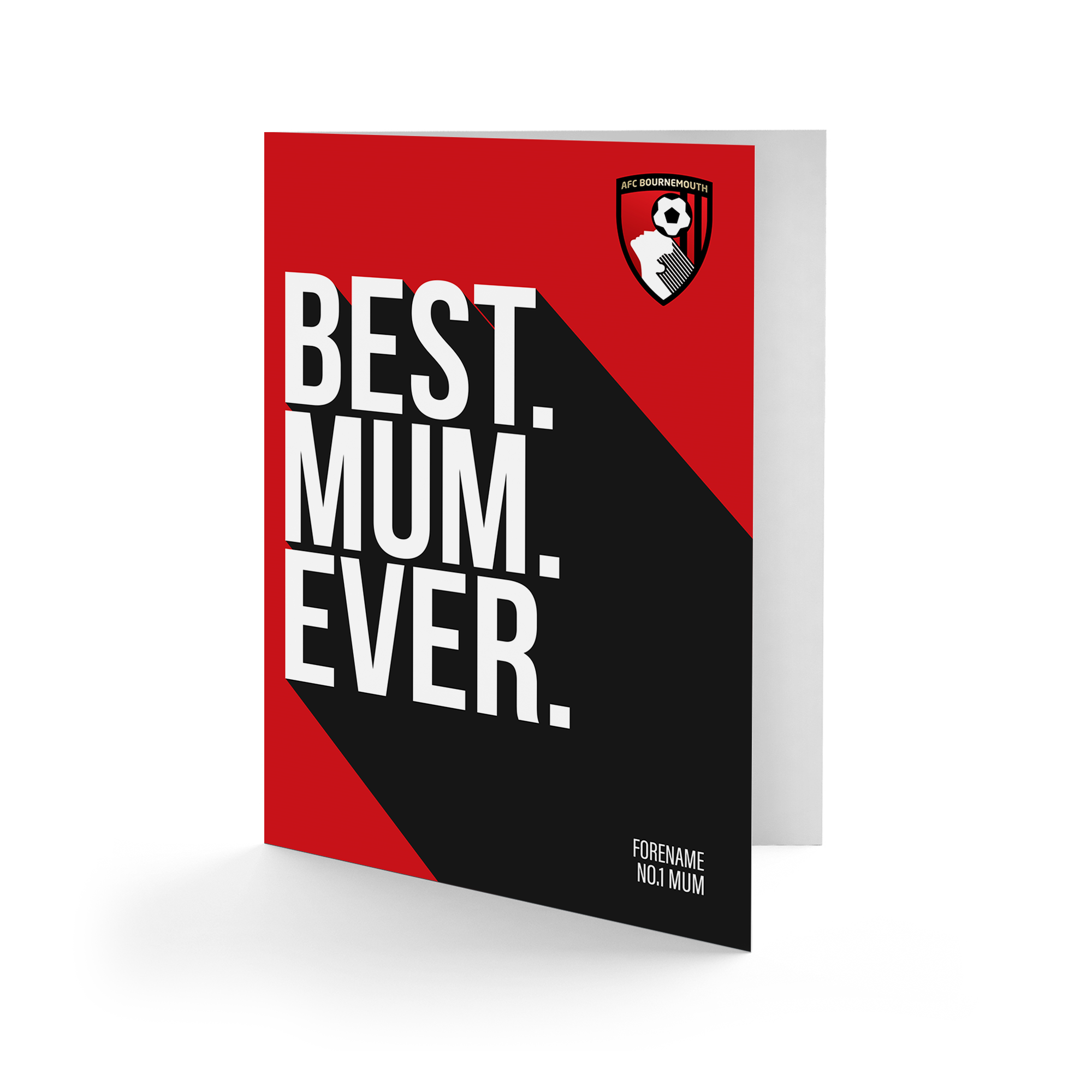 AFC Bournemouth Best Mum Ever Card
