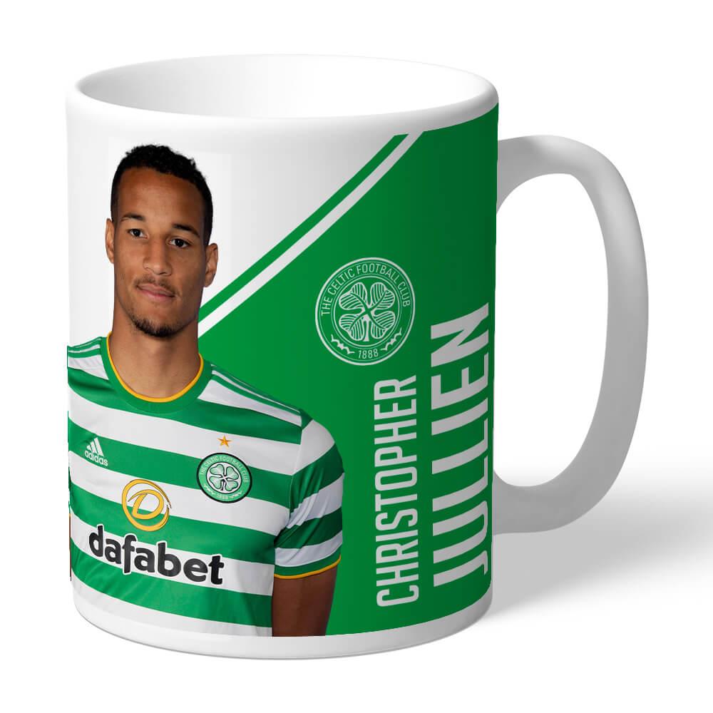 Celtic FC Jullien Autograph Mug