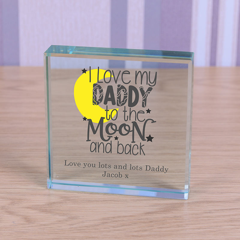 Glass Token - I love my Daddy