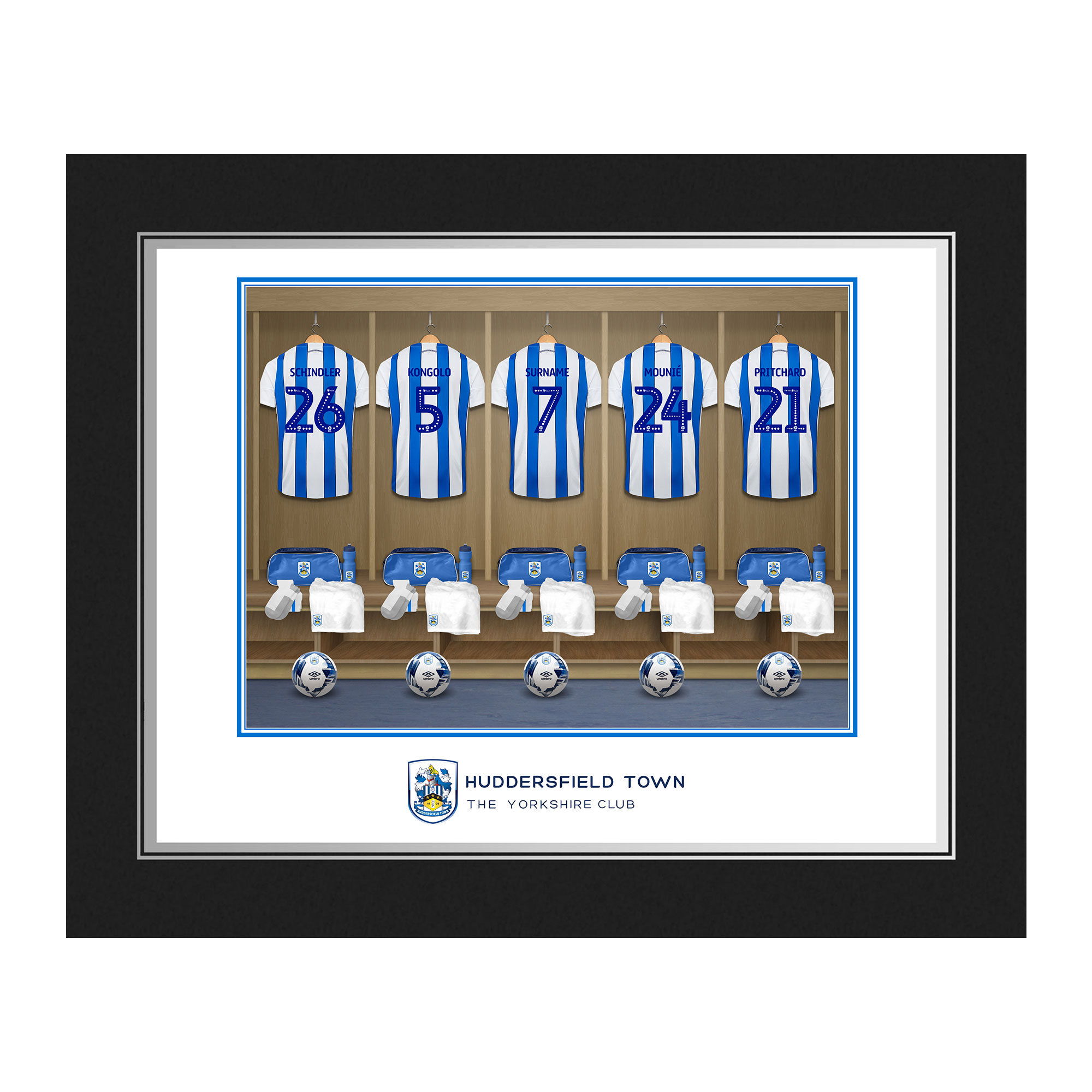 Huddersfield Town AFC Dressing Room Photo Folder