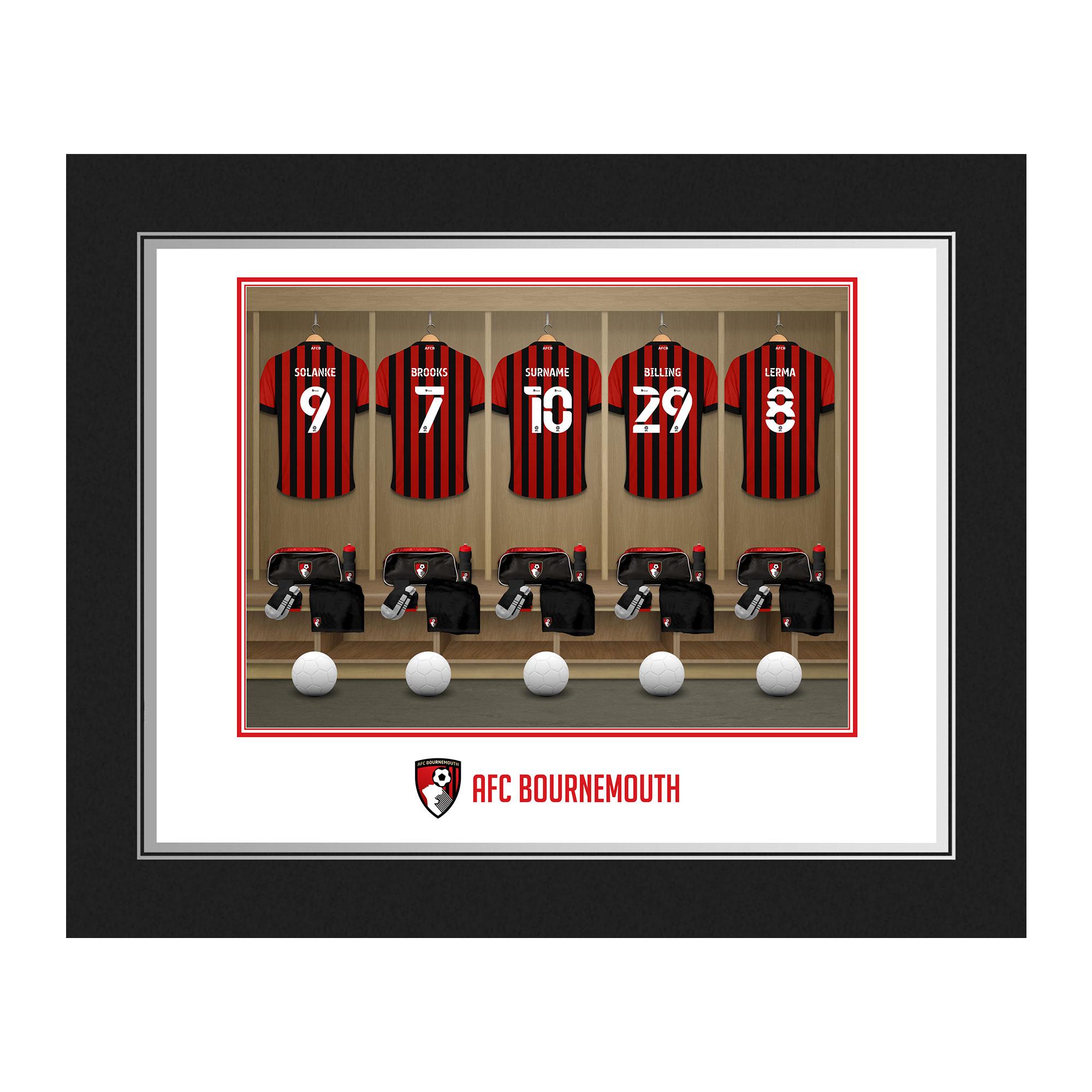 AFC Bournemouth Dressing Room Photo Folder