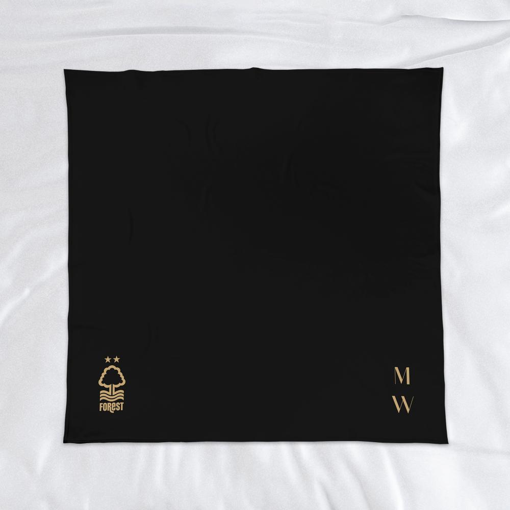Nottingham Forest FC Initials Fleece Blanket