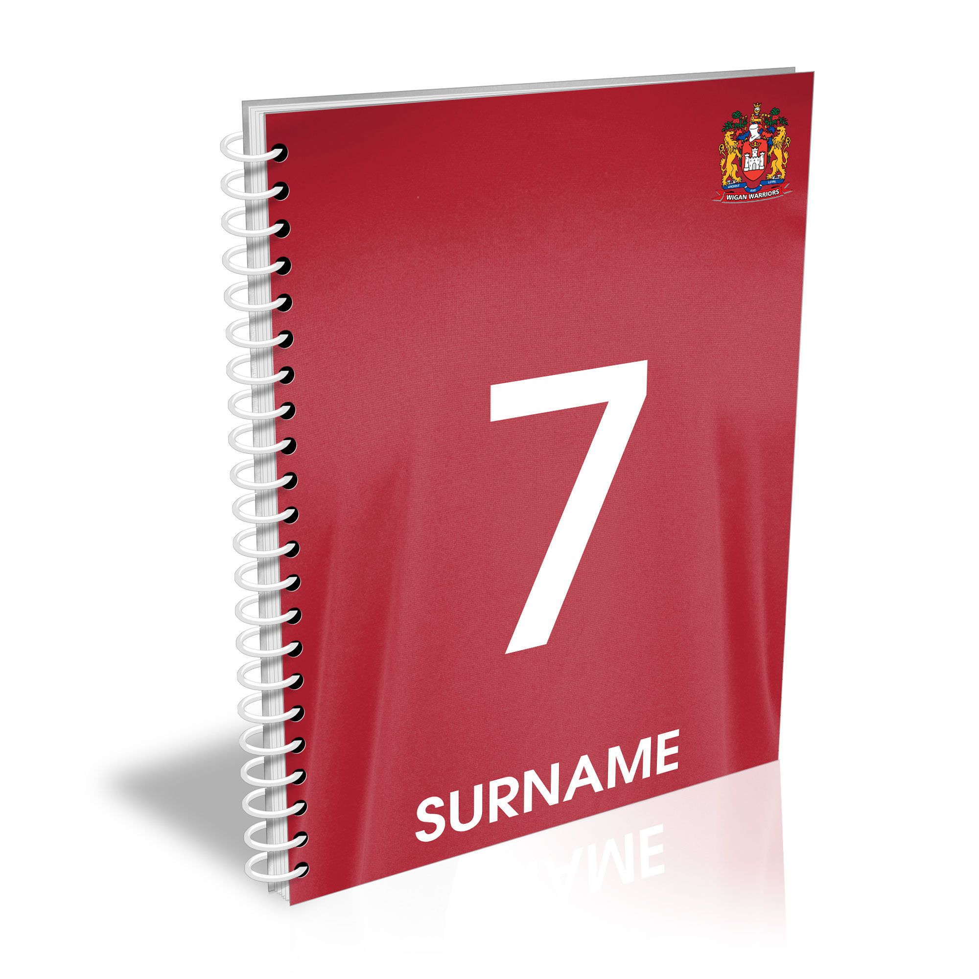 Wigan Warriors Shirt Notebook