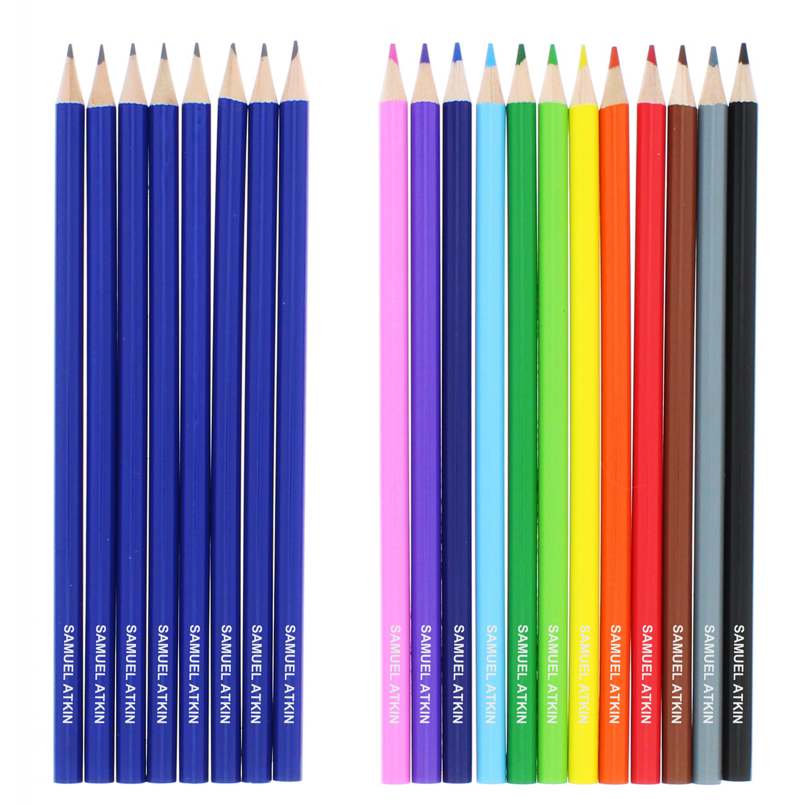 Personalised Colouring Pencils