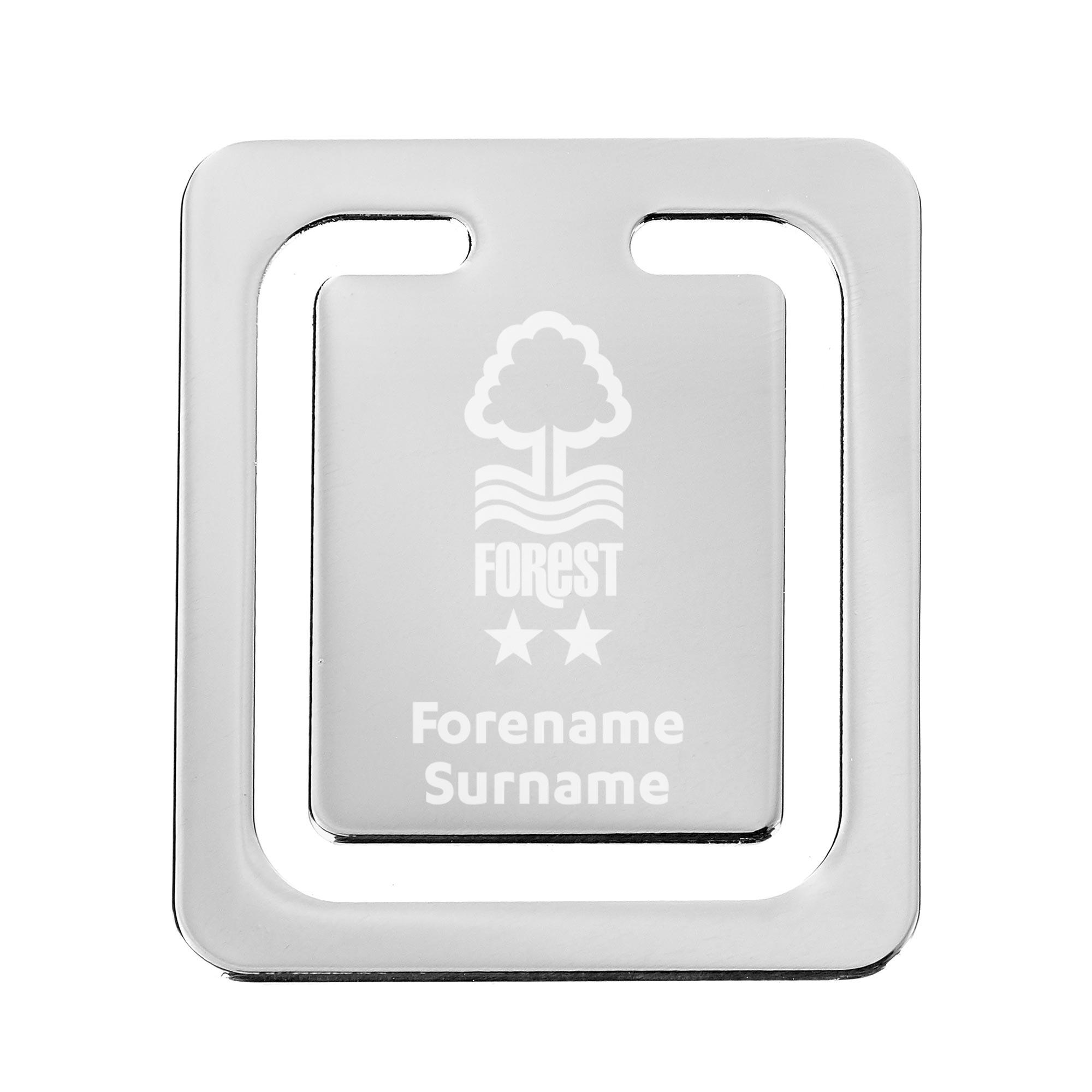 Nottingham Forest FC Crest Bookmark
