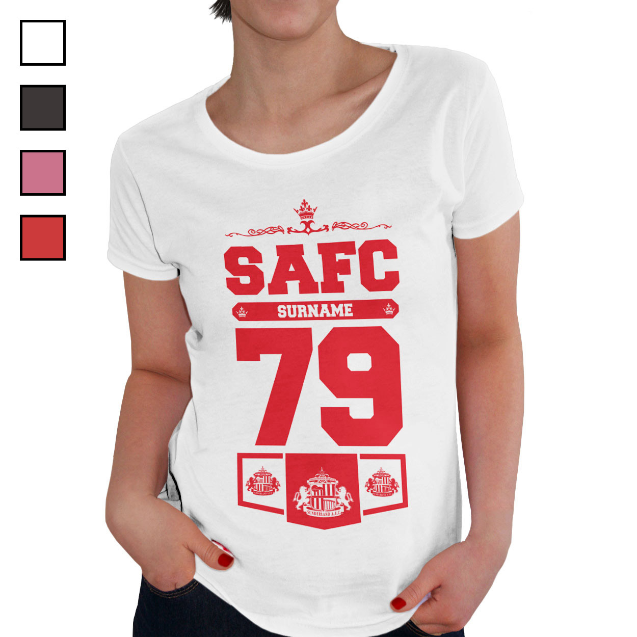 Sunderland AFC Ladies Club T-Shirt