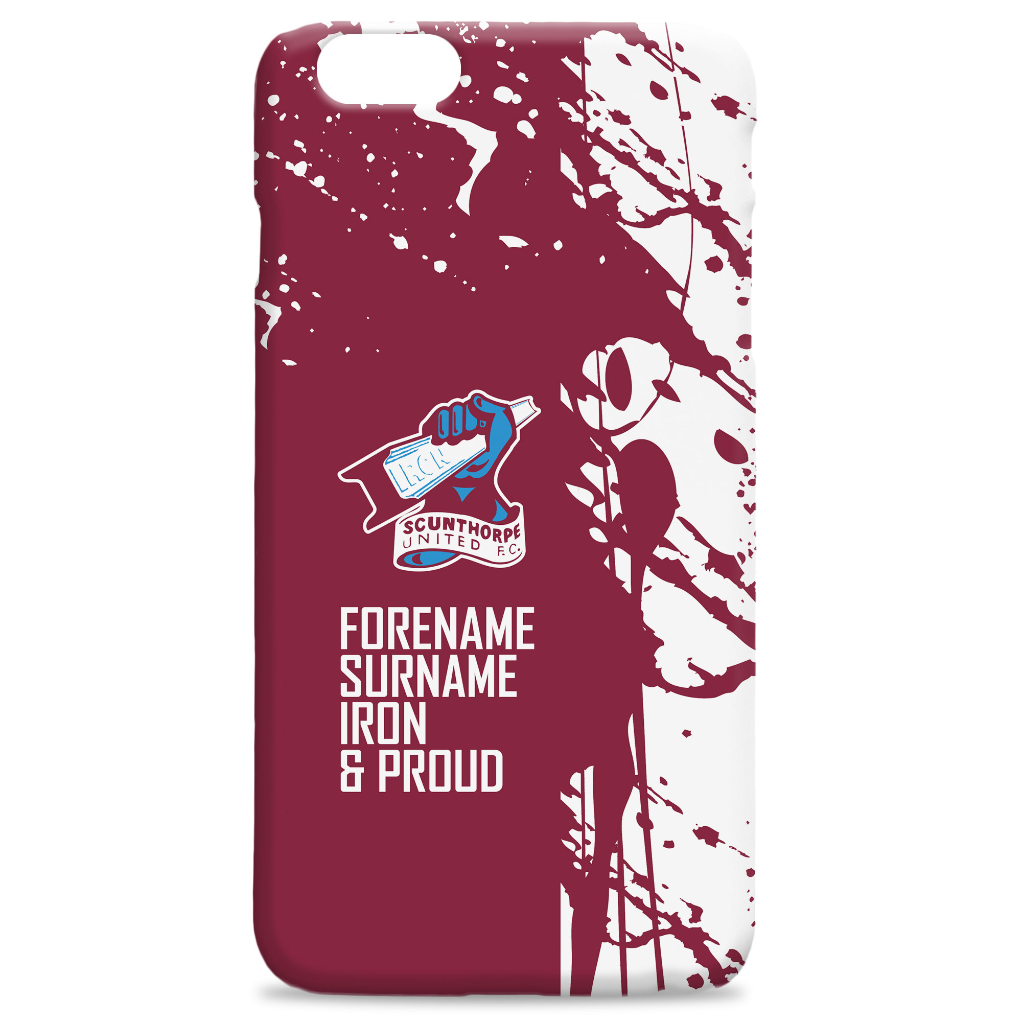 Scunthorpe United FC Proud Hard Back Phone Case