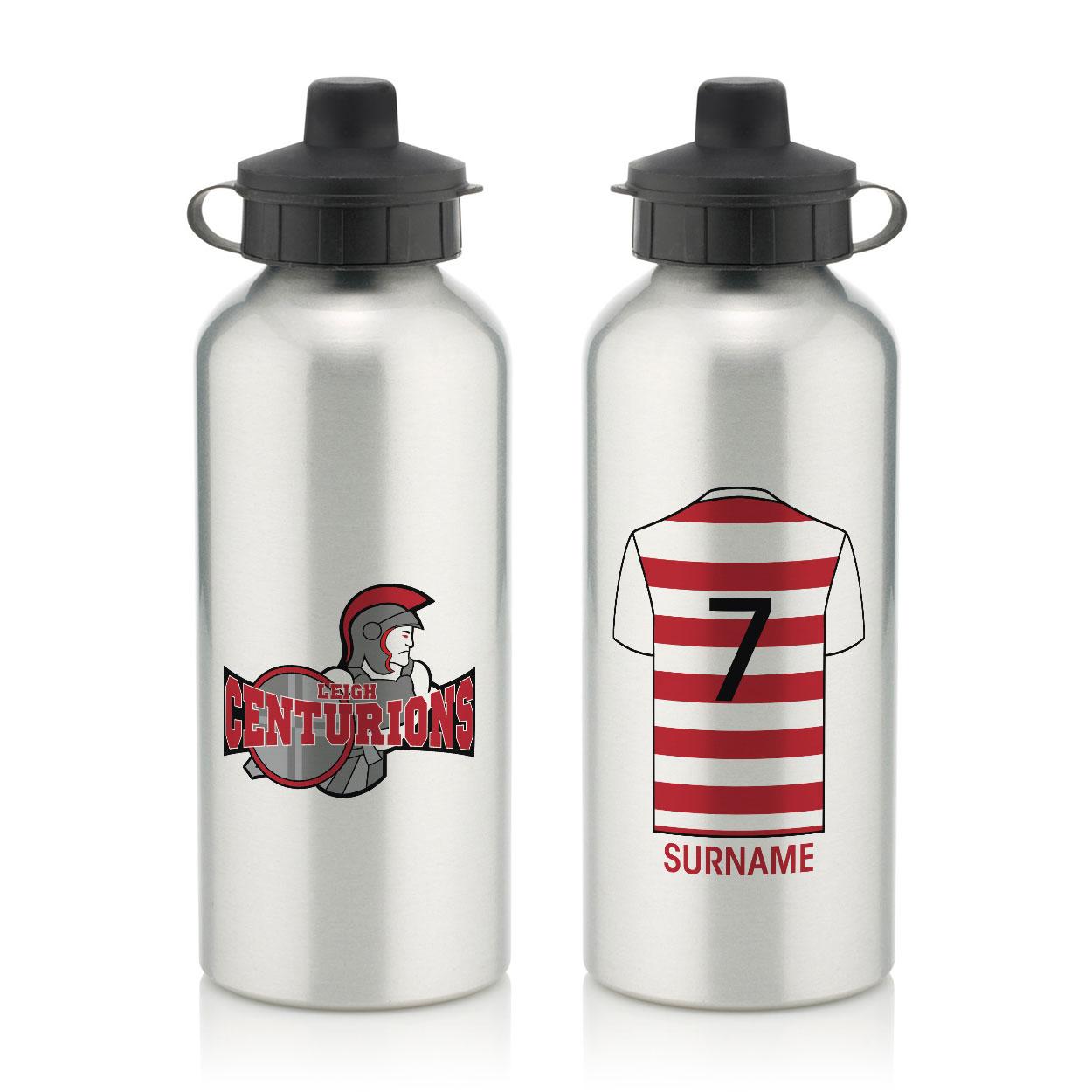 Leigh Centurions Aluminium Water Bottle