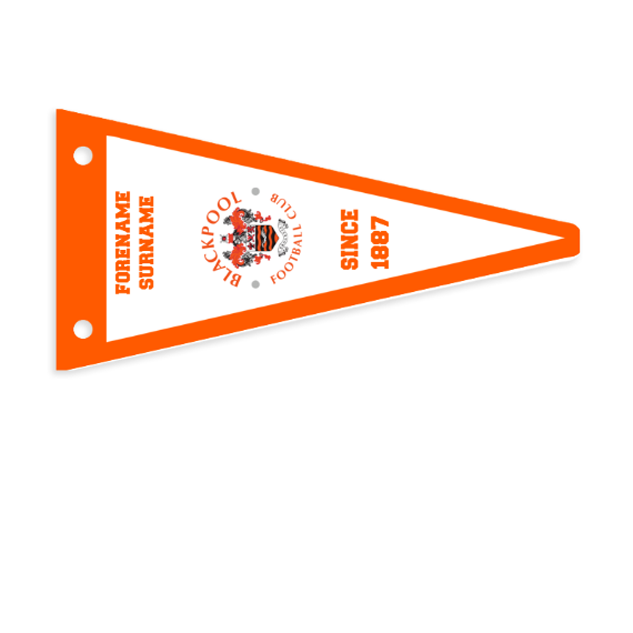 Blackpool Stripes Pennant