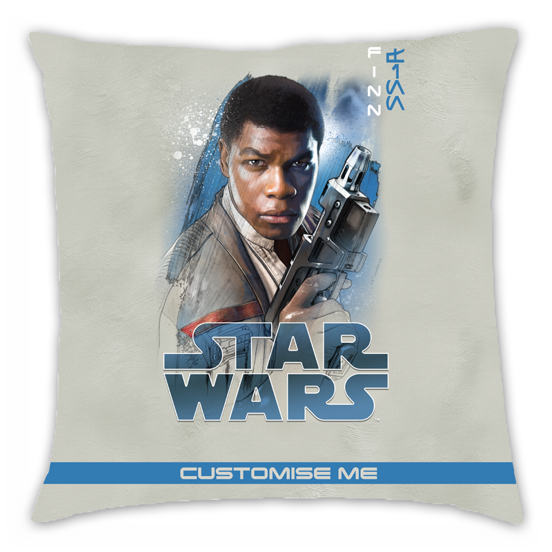 Star Wars Finn Last Jedi Spray Paint Cushion