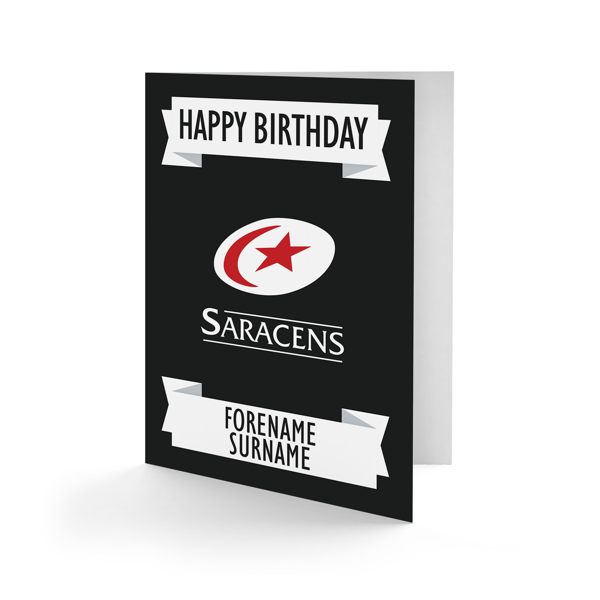 Saracens Crest Birthday Card