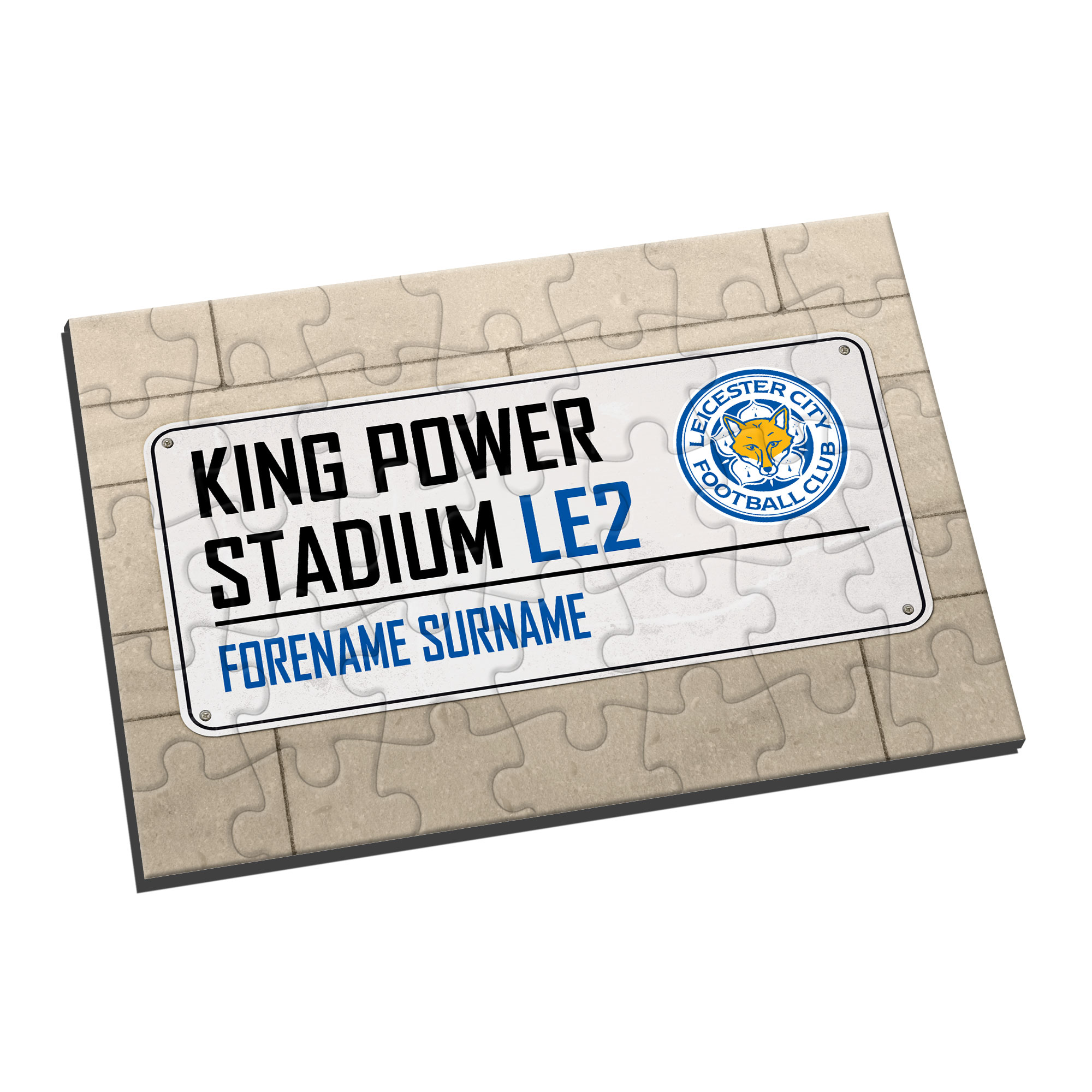Leicester City FC Street Sign Jigsaw