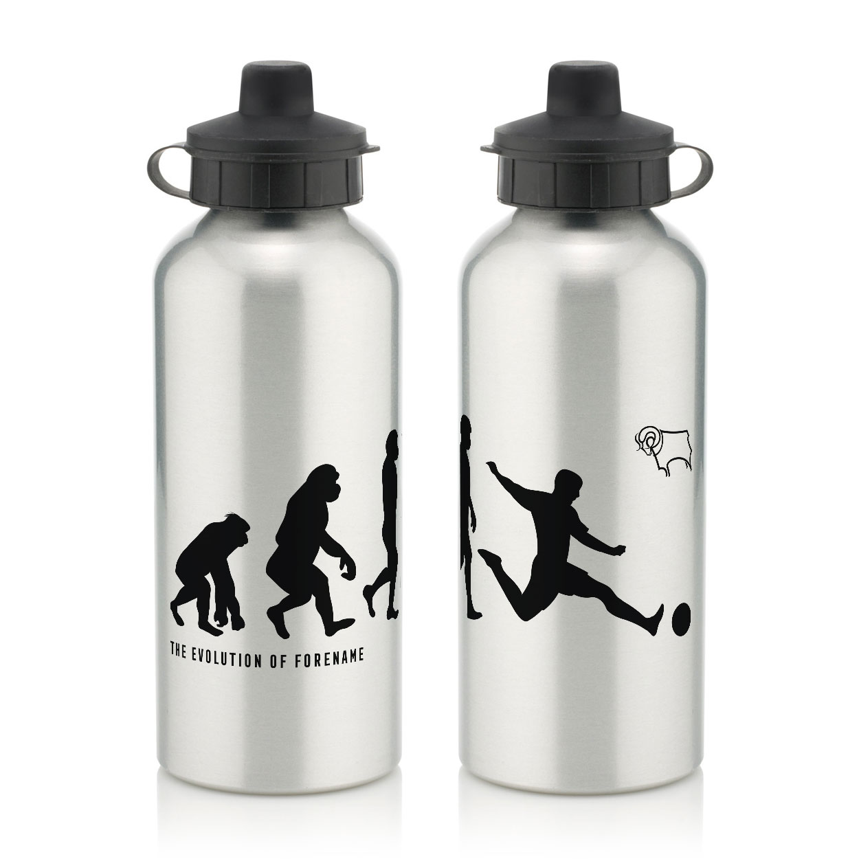 Derby County Evolution Water Bottle