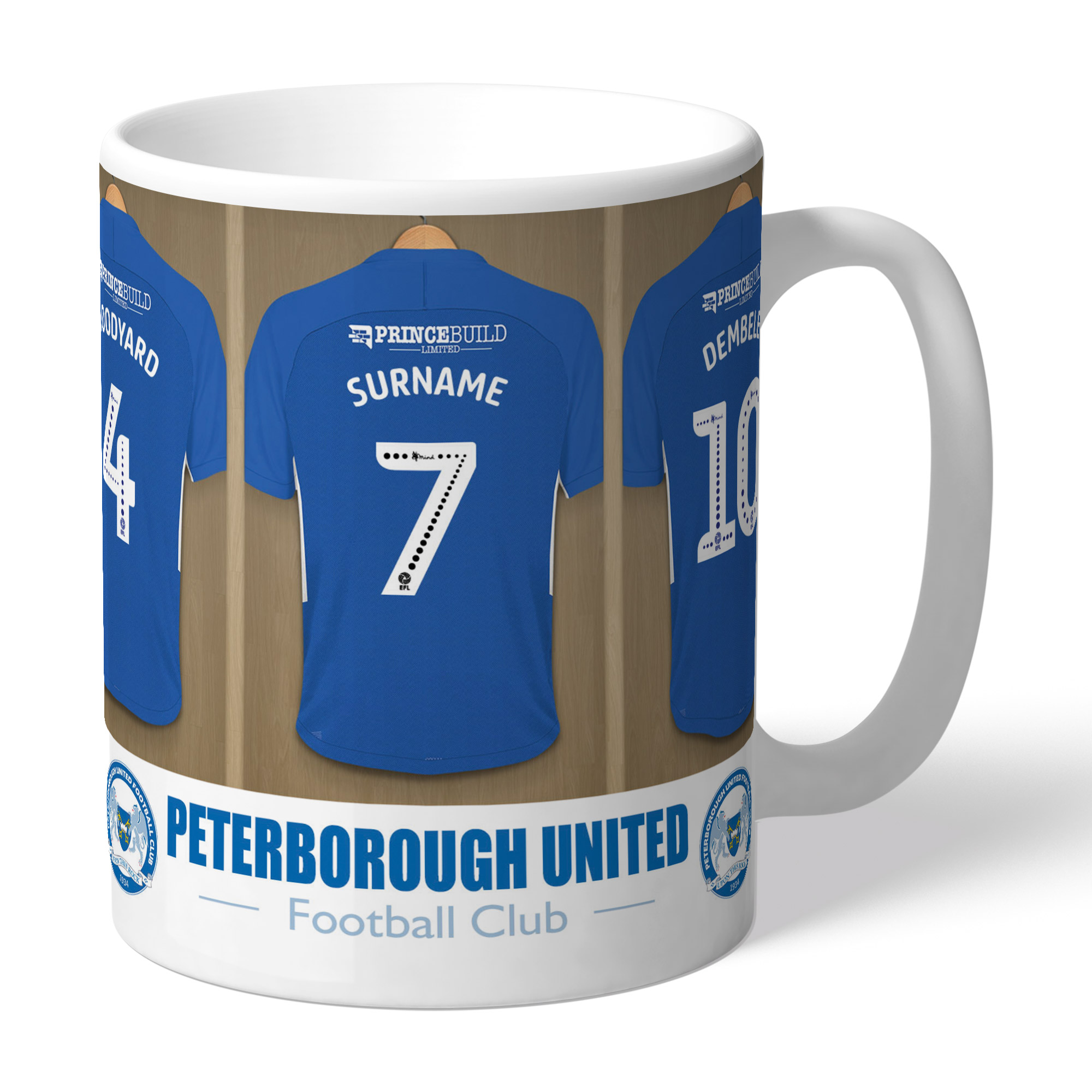 Peterborough United FC Dressing Room Mug