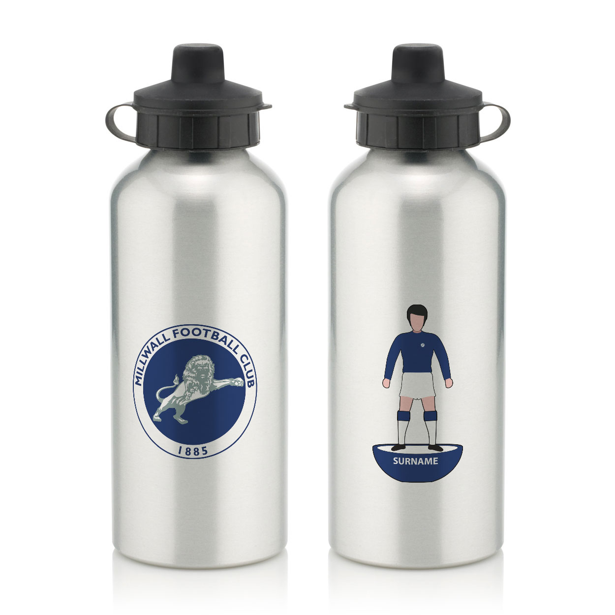 Millwall Player Figure Water Bottle