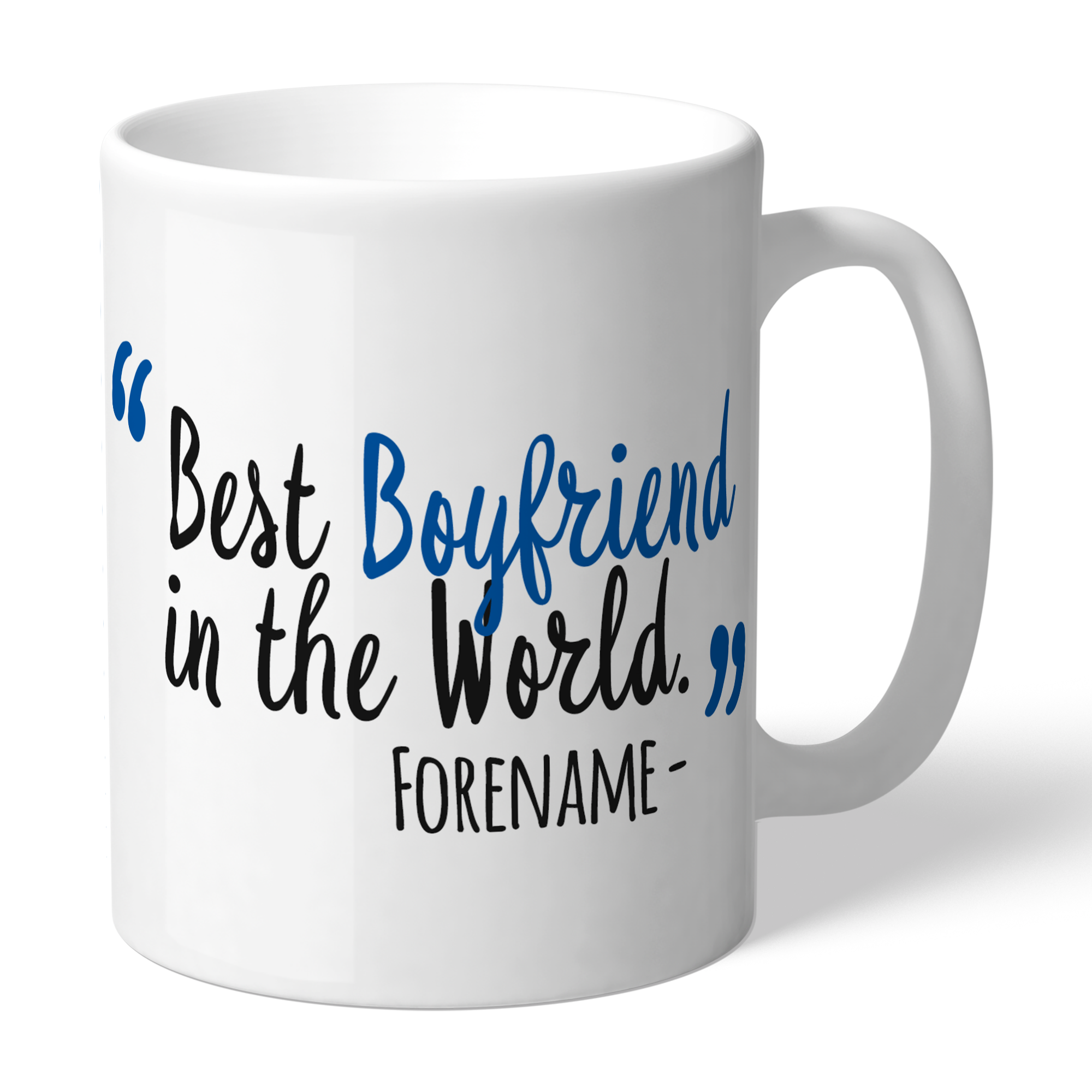 Reading Best Boyfriend In The World Mug