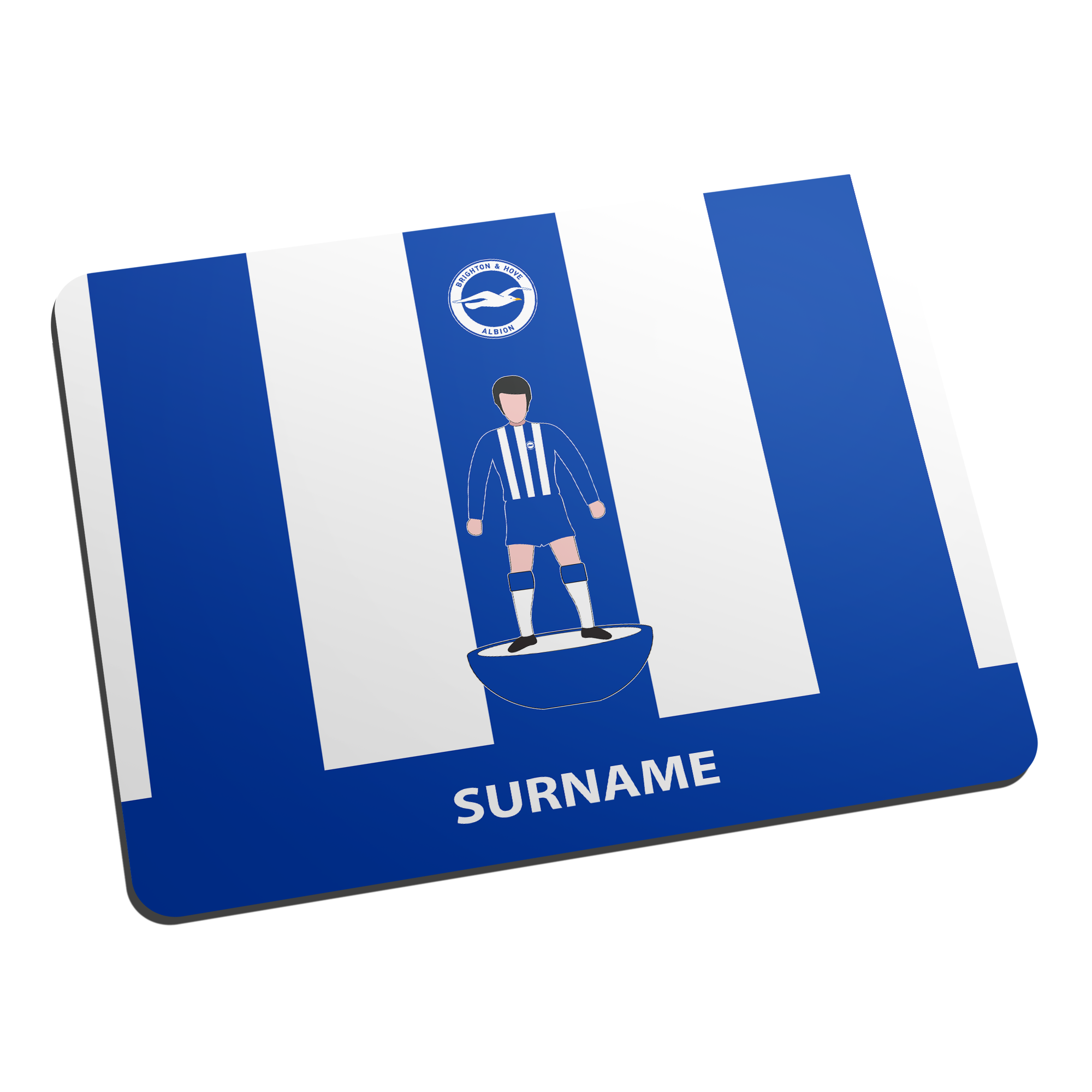 Brighton & Hove Albion FC Player Figure Mouse Mat